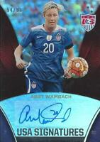 2015 Panini USA Soccer Materials - USMNT & USWNT - 'USA Signatures' /199 or Less
