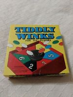 Vintage Tiddlywinks Game Made by Spears Games In England 1950's Excellent Shape