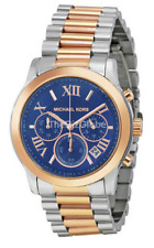 Michael Kors MK6156 Women's Cooper Chronograph Blue Dial Two-Tone Watch