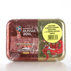 Andrenalyn XL FIFA World Cup Russia 2018 Panini Collector's Tin Sealed