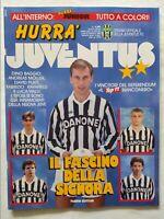 HURRA' JUVENTUS N. 7-8 LUGLIO 1992 + FASCICOLO RAFFAELLA CARRA' VIALLI RAVANELLI