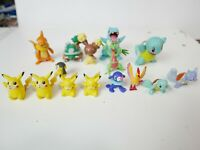 Pokemon Figures Tomy - small loose lot of 15 different figurines