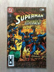 Superman Annual 8 DC Universe DCU Variant DC Comics VF RARE