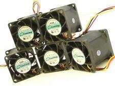 Lot of 5x CoolJag 38mm x 38mm 1U Server Cooling Fan 12V 1.92W 0.16A (Evercool)