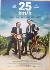 25 km/h - Original Kinoplakat A1 - Lars Eidinger - Bjarne Mädel - Filmposter