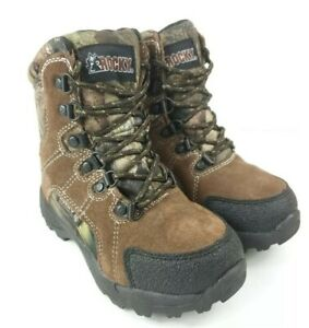 ROCKY FQ0003710 Kids' Hunting Waterproof 800G Insulated Boot,11.5ME
