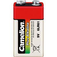 Piles/battery Alcaline plus Camélion 9V 6LF22 EXPEDITION FRANCE
