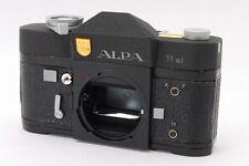 "【Very Rare!!】 ALPA 11el ""Black Crystal Coating"" 35mm SLR Film Camera JAPAN R3042"