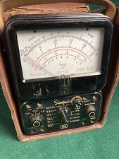 Simpson 260 Series 3 Analog Multimeter Volt Ohm Meter For Parts Or Repair