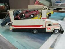 VINTAGE   CHEVY TRUCK CAR HAULER 4 WRECKED CARS