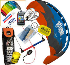 HQ Rush V Pro 350 3.5M Trainer Kite Kiteboarding Snow Power Foil + 2ND HQ Kite R