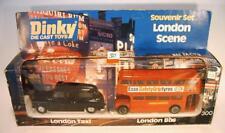 Dinky Toys 300 London Taxi & London Bus Souvenir Set in O-Box #030