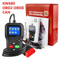 KW680 OBD2 OBDII CAN Car Fault Code Reader Auto Engine Diagnostic Tool Scanner
