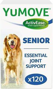 Lintbells YuMOVE SENIOR Dog Joint Supplement Stiff Older Dogs Tabs 45 60 120 240