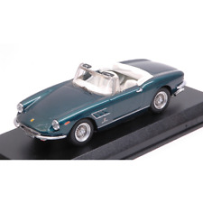 FERRARI 330 GTS 1966 GREEN METALLIC 1:43 Best Model Auto Stradali Die Cast