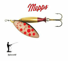 Mepps Long Heavy Copper With Dots Red Reflective Lure Spinning All Sizes 3 - 24g