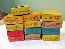 Vintage Lot Of 13 Walt Disney Film Strips In Full Color Craftsmen's Guild 1930's