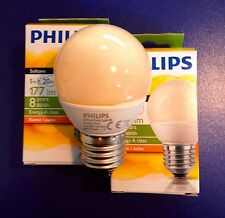 PHILIPS ENERGY Softone FLAME  Sparlampe in Tropfenform E27 5W