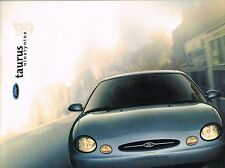 1999 Ford TAURUS Sales Brochure / Catalog with Color Chart: LX, SE, SHO