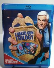 Naked Gun Trilogy Collection (Blu-ray Disc, 2017, 3-Disc Set) Brand NEW (Sealed)