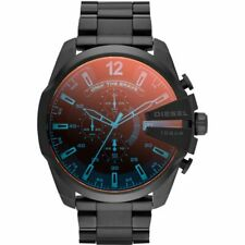 DIESEL DZ4318 MENS GUNMETAL MEGA CHEIF CHRONOGRAPH WATCH