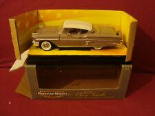 ERTL AMERICAN MUSCLE MEMORIES 1958 CHEVY IMPALA LIMITED ED 1:18 DIE CAST CAR+BOX
