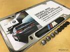 Genuine BMW Stainless Steel Chrome M License Plate Frame E30 E36 E46 E90 M3 CSL