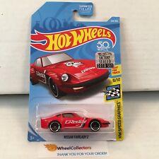 Nissan Fairlady Z #244 * RED * 2018 Hot Wheels Factory Set * E15