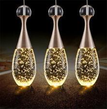 Modern Bubble Crystal Ceiling LED Light Kitchen Bar Pendant Lamp Bar Lighting