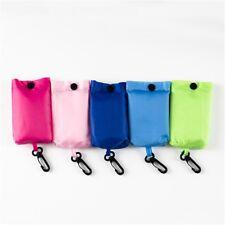 Folding Shopping Bag Clip 47 x 39cm Tote Reusable Foldable Canvas Grocery Shop