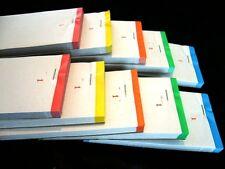 10 X PASTIGLIE ordine LIBRO singolo foglio 1-100 COLORI ASSORTITI CAMERIERE RISTORANTE BIGLIETTO