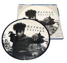 """PRINCE LETITGO 7"""" VINYL Picture Pic Disc  LIMITED COLLECTOR'S EDITION"""