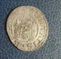 LIVONIA Lettland Free city Riga Shilling Ferding 1571 Silver Medieval