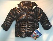 Obermeyer Kids Girls Sheer Bliss Preschool Parka Snow Ski Jacket Anthracit 3 NEW