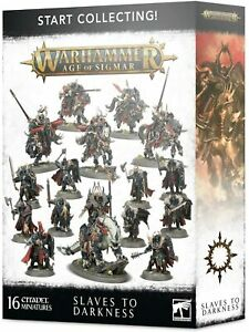 Games Workshop CITADEL - WARHAMMER START COLLECTING! SLAVES TO DARKNESS