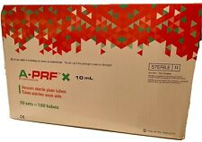 New listing A-Prf blood collection (red) tubes, 10ml, 126 tubes