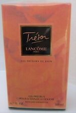 LANCOME TRESOR BATH & SHOWER GEL 200ML - 1999 - NEW BOXED & CELLOPHANE SEALED