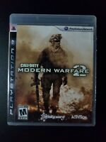 Call of Duty Modern Warfare 2 Black Label Sony Playstation 3 PS3 MINT COMPLETE