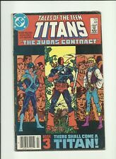 New listing Dc Tales of the Teen Titans 44 Vg+ 1st Nightwing Judas Contract Deathstroke 1984