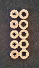 Hybrid Ceramic Bearings ABEC-7 Orange 3x10x4;5x11x4 (5 Sets) Abu/Quantum/Diawa..
