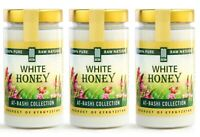 White Honey (15.8 Ounce) Natural Creamed Wildflower Mountain Honey 3-PACK