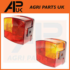 PAIR Case International IH 595 685 695 844 856 895 956 Tractor Rear Lights Lamps