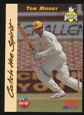 1996 Western Warriors Tom Moody Cricket card Town and Country Bank