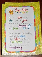 """Blue Mountain Arts Encouragement Greeting Card """"I believe in You"""" B2GO SALE"""