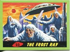 Mars Attacks Heritage Green Parallel Base Card #23    The Frost Ray