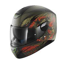 Shark Skwal Switch Riders Motorcycle Helmet Mat Green XL 61-62 cm RRP $399.00