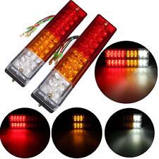 1Pair LED Stop Rear Tail Reverse Light Indicator Lamp Truck Trailer Caravan 12V