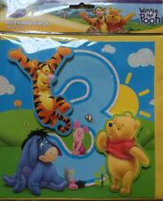 Disney Birthday, Child Winnie the Pooh Hand-Made Cards