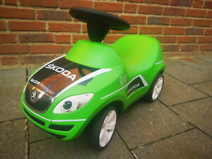 Skoda Fabia Slide Car Children Green MVF77-900