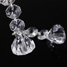 10pcs/lot Acrylic Crystal Beads Garland Chandelier Hanging Wedding Party Decor